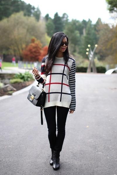 Camilla and Marc sweater - Rag and Bone boots - Rag and Bone jeans - Miu Miu bag