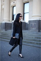balenciaga bag - Camilla and Marc coat - Zara top - kirrili Johnston pants