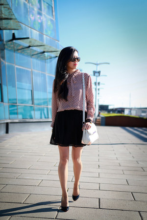 Zimmermann shirt - Alexander Wang bag - Sportsgirl skirt