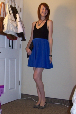 Target top - vintage skirt - Old Navy shoes