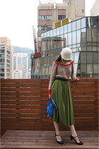red ba & sh sweater - green Innamorato skirt