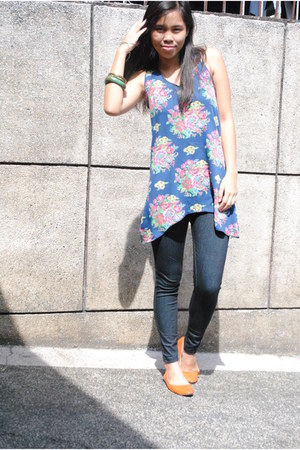 SM Dept Store jeans - top - Tomato flats - Bazaar accessories