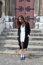 H&M blazer - H&M romper - The Kooples loafers