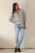 vintage union bay shirt - f21 jeans - Target shoes