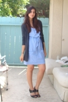 Express sweater - H&M Organic Cotton dress - Target shoes