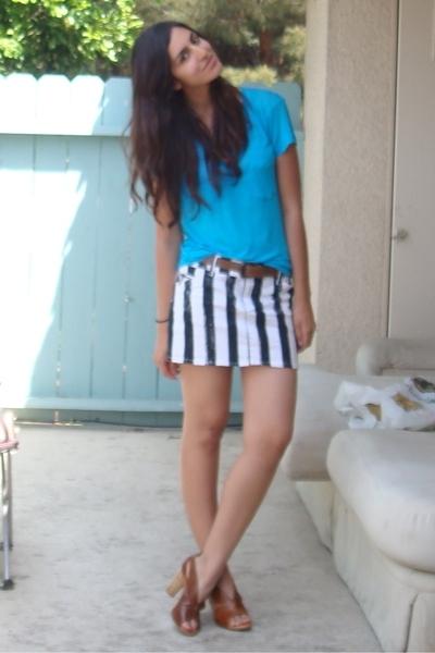 express sheer pocket t-shirt - luella for target via wasteland skirt - vintage b
