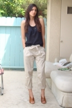 Forever21 top - Express pants - latitude femme shoes