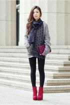 belle de jour Yves Saint Laurent bag - jemma Dolce Vita boots