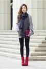 Jemma-dolce-vita-boots-alexander-mcqueen-scarf