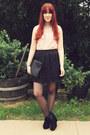 Black-studded-clutch-sportsgirl-bag-cream-diva-accessories
