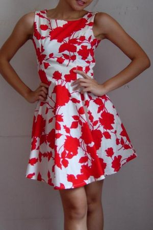 emceecouture dress - red