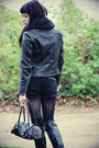 Black-jeffrey-campbell-boots-black-faux-leather-mossimo-jacket