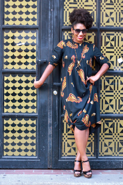 Brash for Payless shoes - vintage dress