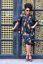 Brash for Payless shoes - vintage dress