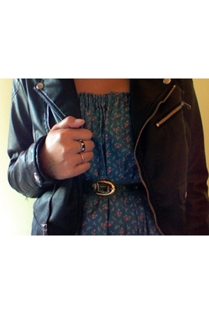 H&amp;M jacket - Aardvarks dress - belt