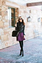 brian atwood boots - Halogen jacket - Jcrew skirt