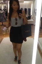 coach purse - H&M skirt - Forever21 shoes - Forever21 top - Forever21 top