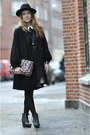 Black-acne-boots-black-queens-wardrobe-dress-black-designers-remix-collectio