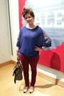 Ruby-red-forever-21-jeans-tawny-steve-madden-bag