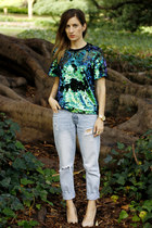 cameo top - cotton on jeans