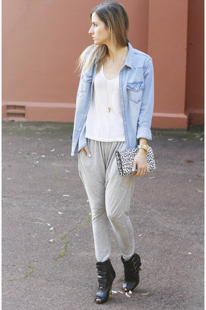 cameo pants - H&M shirt
