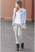 cameo pants - H&M shirt