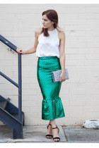 Jessica Reeves skirt - Saint Laurent bag