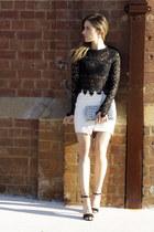 saints and secrets top - Yves Saint Laurent bag