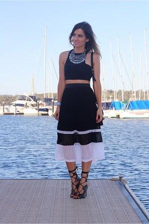 portmans skirt - PROENZA SCHOULER bag - Windsor Smith heels - bec & bridge top