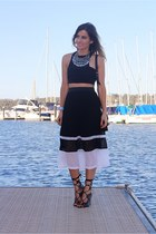 portmans skirt - PROENZA SCHOULER bag - Windsor Smith heels - bec & bridge top