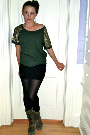 H&M sweater - bandage Nollie skirt