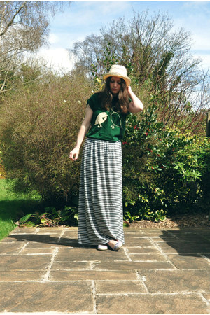 Primark skirt - new look hat - River Island t-shirt