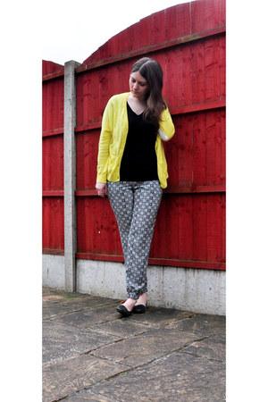 Topshop pants - asos cardigan - Topshop top
