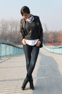 Black-leather-levis-boots-navy-denim-h-m-jeans-eggshell-pull-bear-shirt