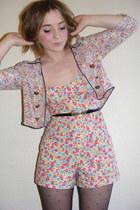 floral print new look romper - floral print Primark jacket