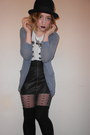 Topshop-tights-urban-outfitters-hat-topshop-cardigan