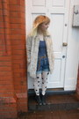 Polka-dot-miss-selfridge-bodysuit-topshop-boots-faux-fur-topshop-coat