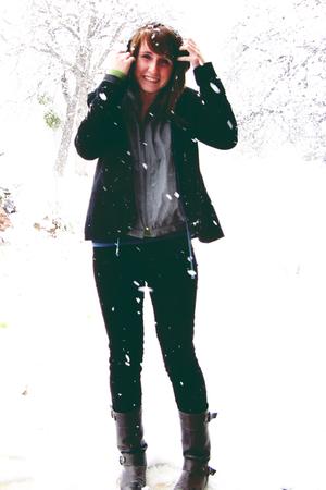 Silence  Noise blazer - Hawks jacket - madewell pants - Star Ling boots - Old Na