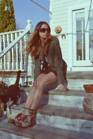 Chloe boots - christian dior sunglasses