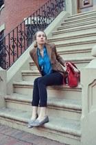 Brooks Brothers blazer - Topshop jeans - Reiss of London shirt