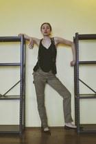 Tim Gowen accessories - dior accessories - BCBG pants - asos top