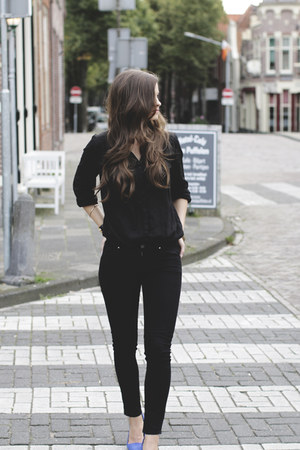 H&M shirt - Michael Kors watch - Primark pants