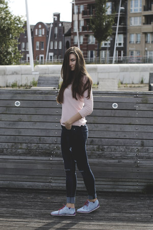 Oneil shoes - H&M jacket - Bershka sweater