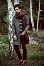 Zara-jeans-zara-jacket-vintage-sweater-zara-shirt-zara-scarf