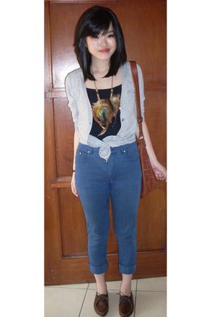 - jeans - necklace -