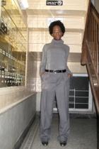 H&M sweater - belt - pants - neil barrett shoes