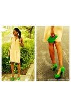 green Bakersshoes heels