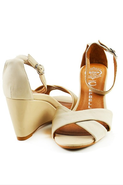nude trudeau Jeffrey Campbell sandals