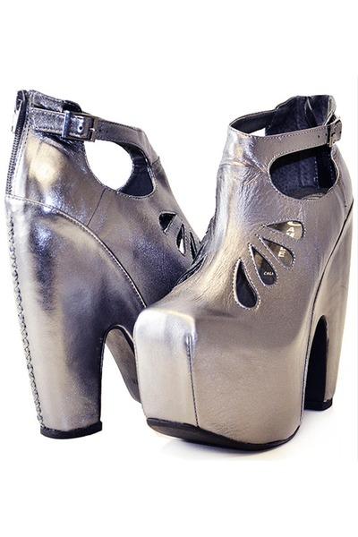 cuffed Jeffrey Campbell boots