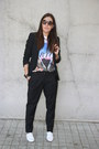 Fosco-shoes-lefties-blazer-carrera-sunglasses-accesorize-necklace